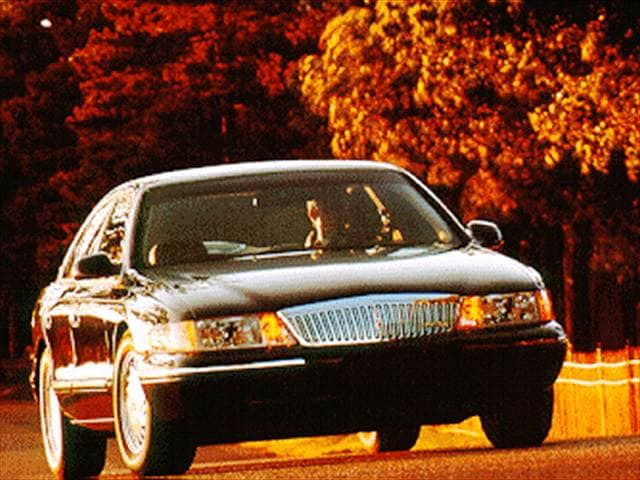 Highest Horsepower Sedans of 1995 - 1995 Lincoln Continental