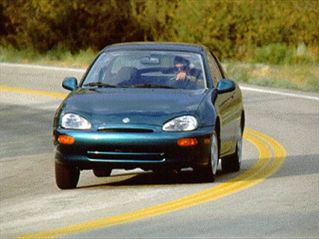 Most Fuel Efficient Hatchbacks of 1995 - 1995 Mazda MX-3