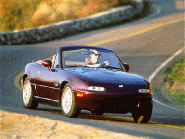 Most Fuel Efficient Convertibles of 1995 - 1995 Mazda MX-5 Miata