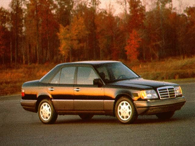 Most Fuel Efficient Luxury Vehicles of 1995 - 1995 Mercedes-Benz E-Class