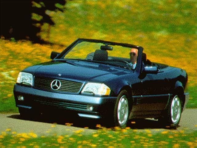 Highest Horsepower Luxury Vehicles of 1995 - 1995 Mercedes-Benz SL-Class