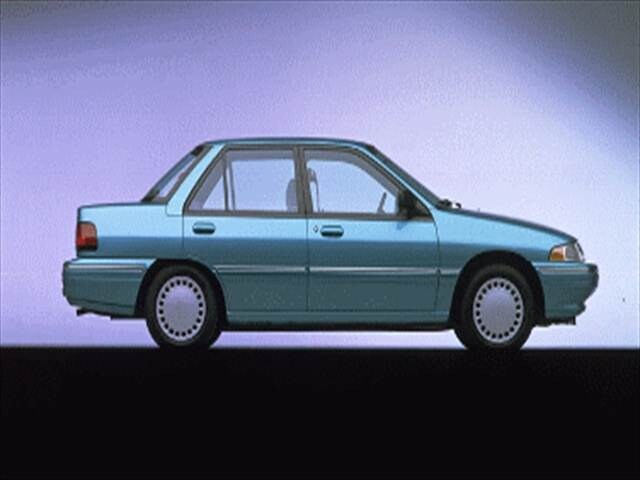 Most Fuel Efficient Hatchbacks of 1995 - 1995 Mercury Tracer