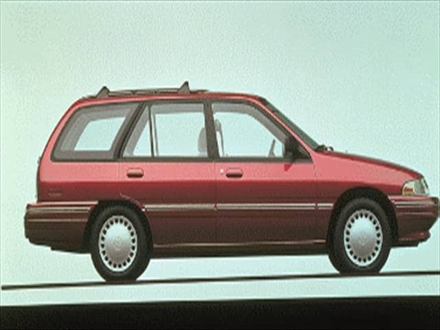 Most Fuel Efficient Wagons of 1995 - 1995 Mercury Tracer