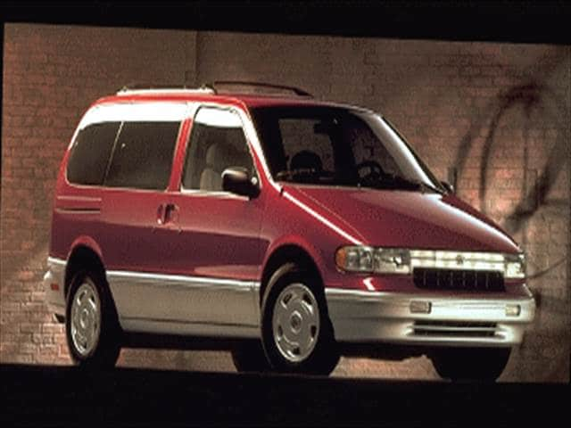 Most Fuel Efficient Vans/Minivans of 1995 - 1995 Mercury Villager