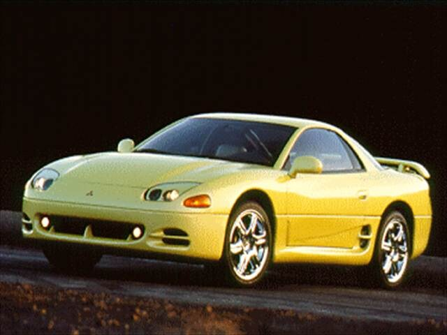 Top Consumer Rated Hatchbacks of 1995 - 1995 Mitsubishi 3000GT