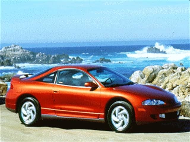 Most Fuel Efficient Hatchbacks of 1995 - 1995 Mitsubishi Eclipse