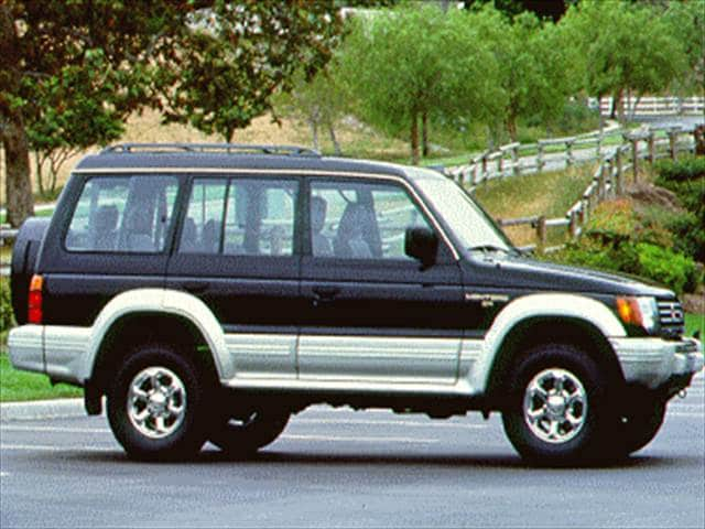 Top Consumer Rated SUVs of 1995 - 1995 Mitsubishi Montero