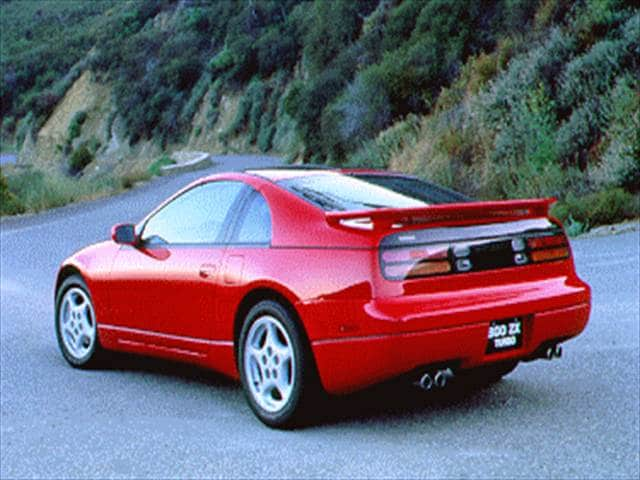 Most Popular Hatchbacks of 1995 - 1995 Nissan 300ZX