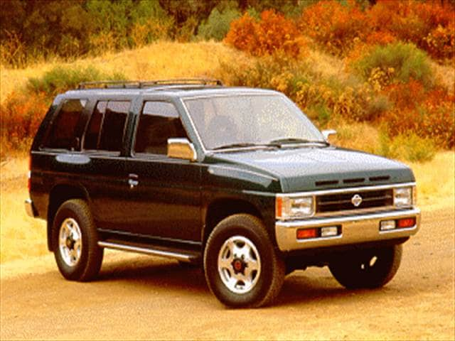 Top Consumer Rated SUVs of 1995 - 1995 Nissan Pathfinder