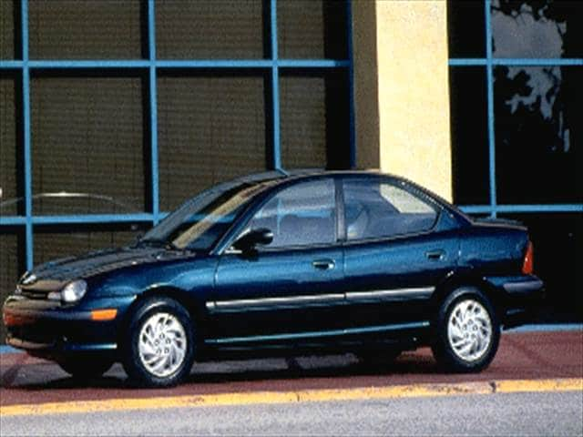 Most Fuel Efficient Sedans of 1995 - 1995 Plymouth Neon