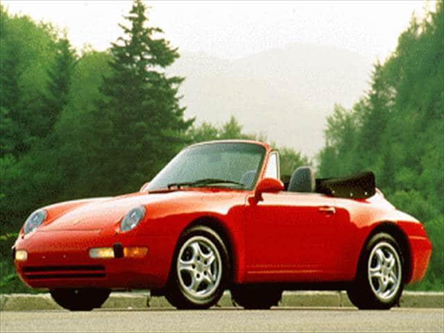 Top Consumer Rated Convertibles of 1995 - 1995 Porsche 911
