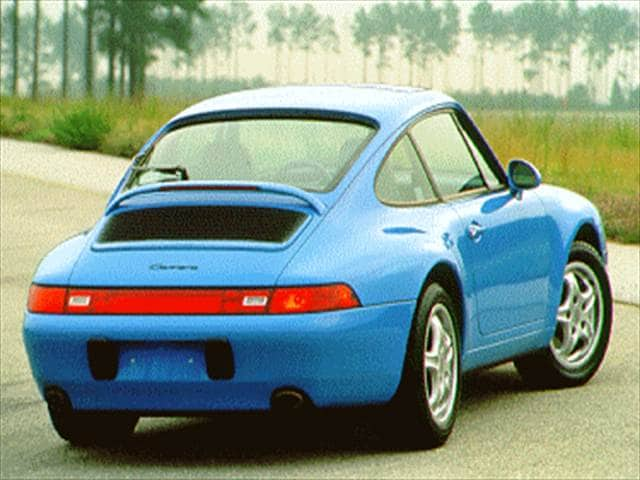 Top Consumer Rated Luxury Vehicles of 1995 - 1995 Porsche 911