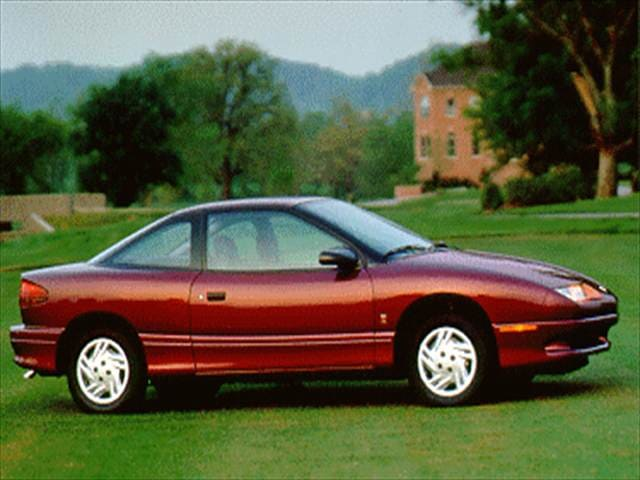 Most Popular Coupes of 1995 - 1995 Saturn S-Series