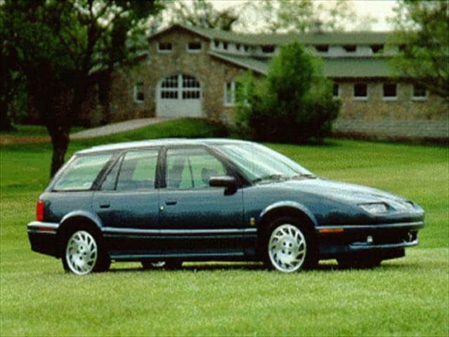 Most Popular Wagons of 1995 - 1995 Saturn S-Series