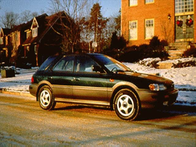 Most Popular Wagons of 1995 - 1995 Subaru Impreza
