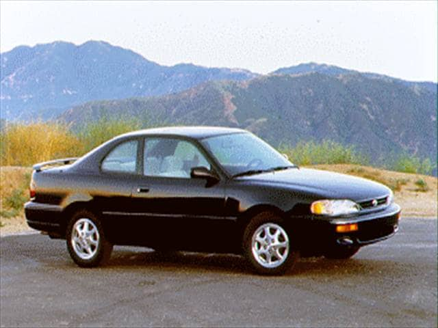 Most Popular Coupes of 1995 - 1995 Toyota Camry