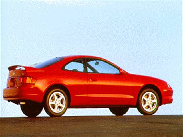 Most Fuel Efficient Hatchbacks of 1995 - 1995 Toyota Celica
