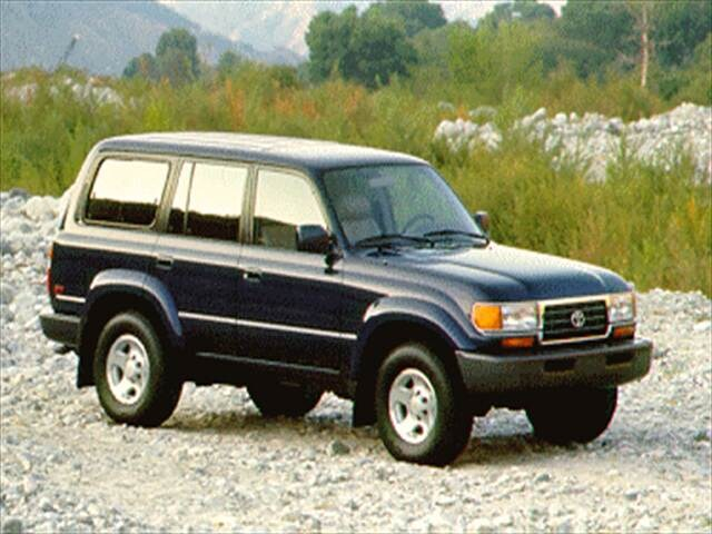 Top Consumer Rated SUVs of 1995 - 1995 Toyota Land Cruiser