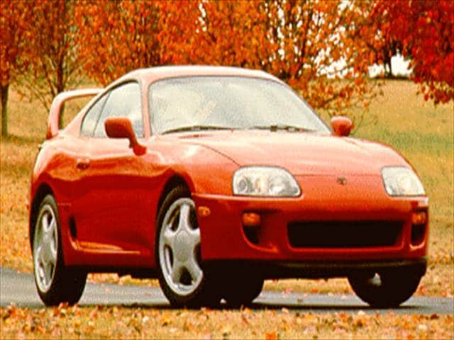 Top Consumer Rated Coupes of 1995 - 1995 Toyota Supra