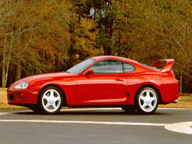 Highest Horsepower Coupes of 1995 - 1995 Toyota Supra