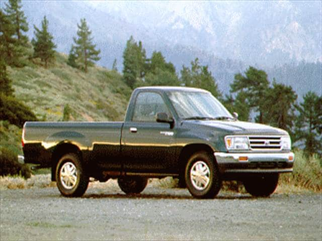 Top Consumer Rated Trucks of 1995 - 1995 Toyota T100 Regular Cab