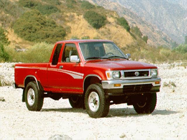 Top Consumer Rated Trucks of 1995 - 1995 Toyota Xtra Cab