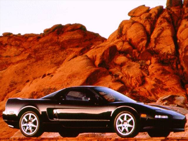 Top Consumer Rated Coupes of 1996 - 1996 Acura NSX