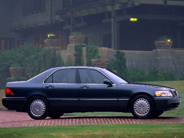 Top Consumer Rated Luxury Vehicles of 1996 - 1996 Acura RL