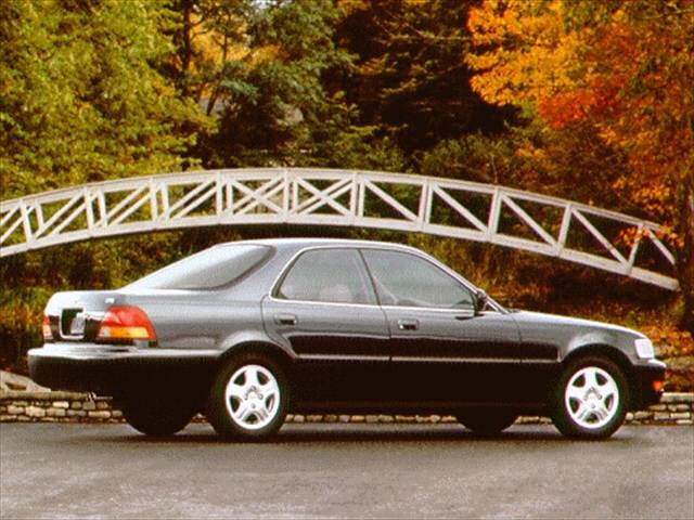 Top Consumer Rated Sedans of 1996 - 1996 Acura TL