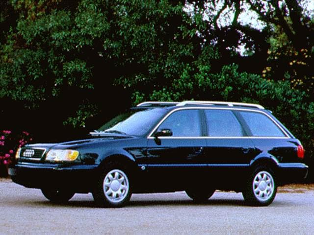 Top Consumer Rated Wagons of 1996 - 1996 Audi A6