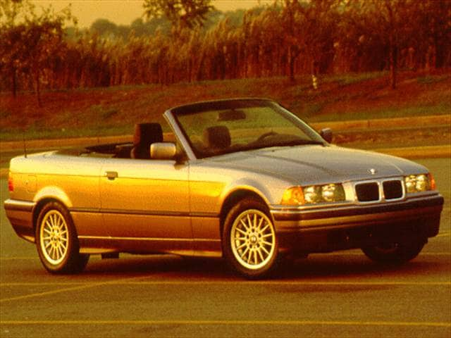 Most Popular Convertibles of 1996 - 1996 BMW 3 Series