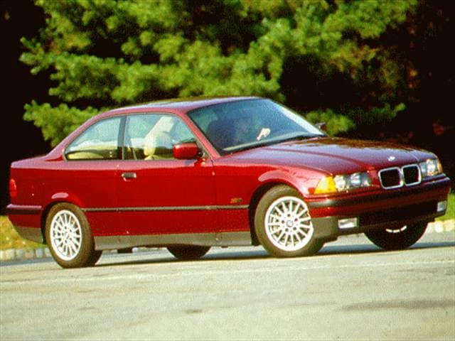 Most Popular Coupes of 1996 - 1996 BMW 3 Series