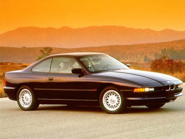 Highest Horsepower Luxury Vehicles of 1996 - 1996 BMW 8 Series