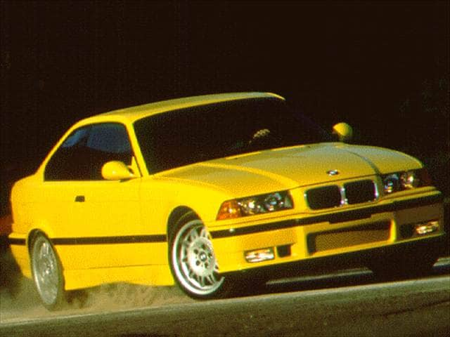 Most Fuel Efficient Luxury Vehicles of 1996 - 1996 BMW M3