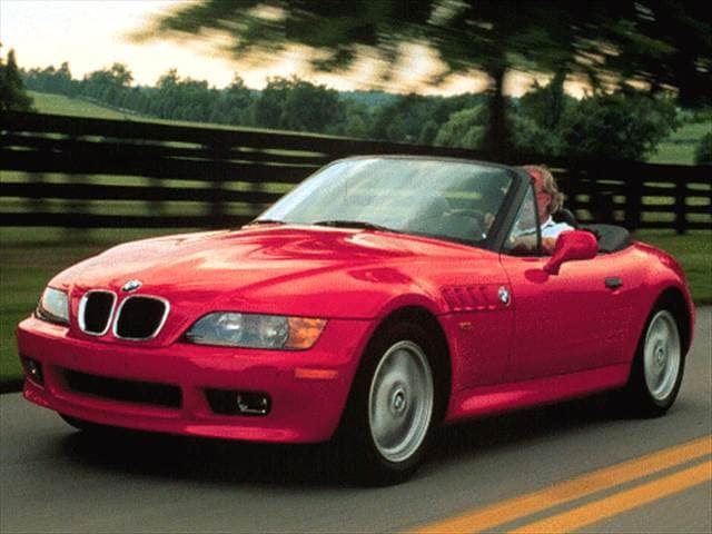 Top Consumer Rated Luxury Vehicles of 1996 - 1996 BMW Z3