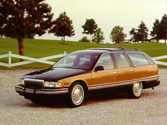 Highest Horsepower Wagons of 1996 - 1996 Buick Roadmaster