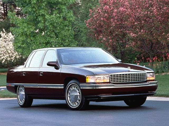 Most Popular Luxury Vehicles of 1996 - 1996 Cadillac DeVille