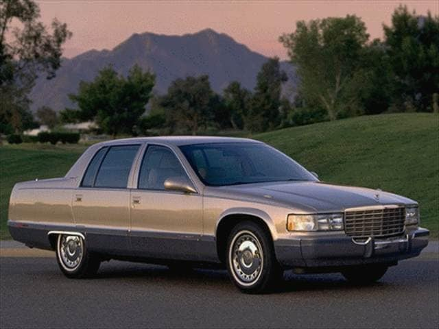Highest Horsepower Sedans of 1996 - 1996 Cadillac Fleetwood