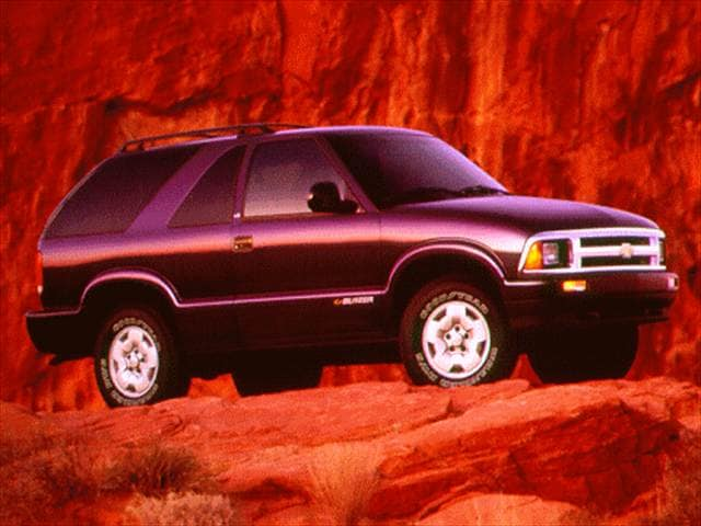 Most Popular SUVs of 1996 - 1996 Chevrolet Blazer