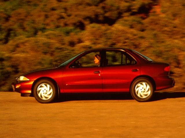 Most Popular Sedans of 1996 - 1996 Chevrolet Cavalier