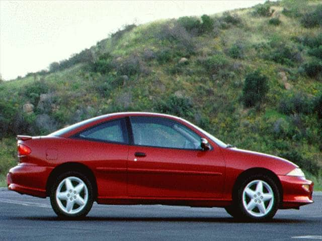 Most Popular Coupes of 1996 - 1996 Chevrolet Cavalier