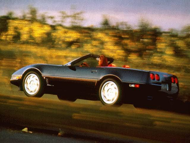Most Popular Convertibles of 1996 - 1996 Chevrolet Corvette