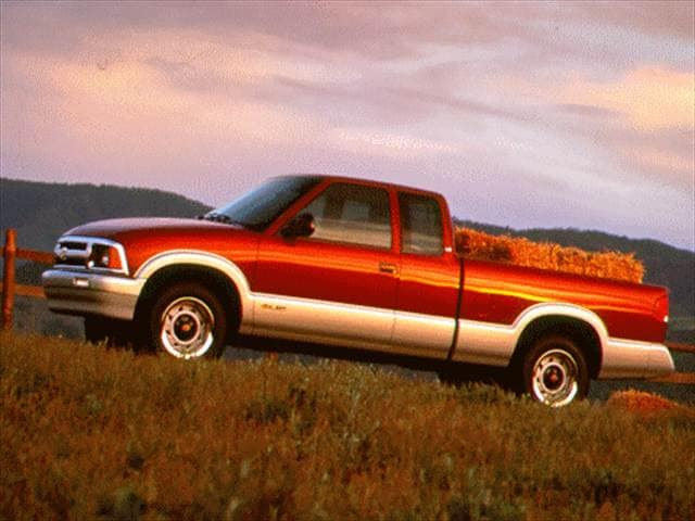 Most Popular Trucks of 1996 - 1996 Chevrolet S10 Extended Cab