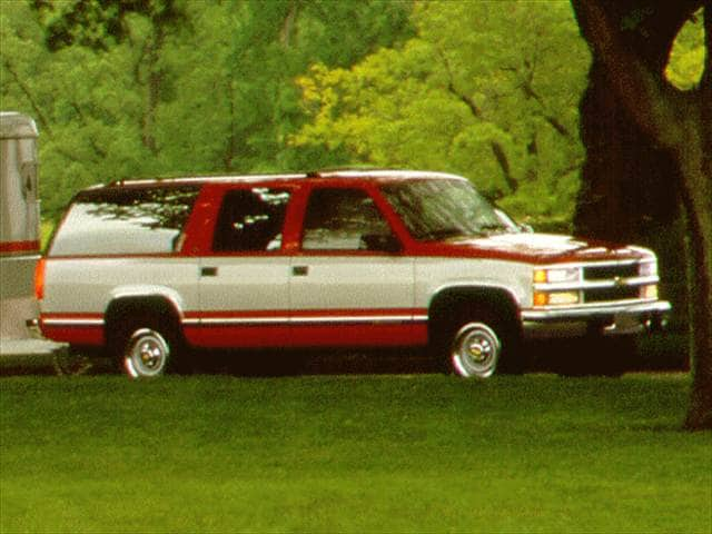 Most Popular SUVs of 1996 - 1996 Chevrolet Suburban 2500