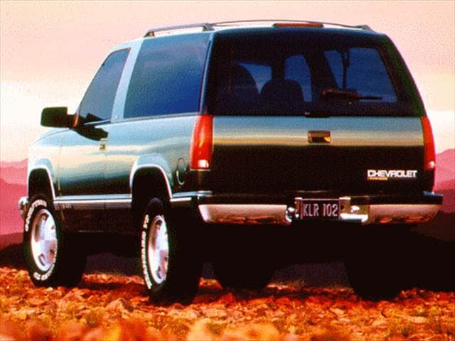 Top Consumer Rated SUVs of 1996 - 1996 Chevrolet Tahoe