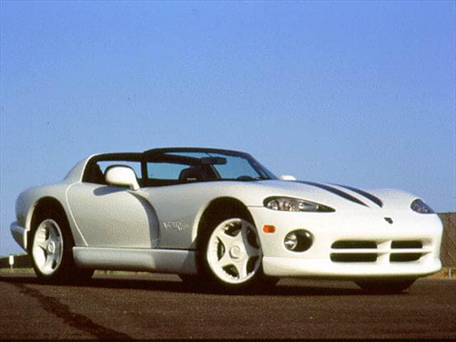 Top Consumer Rated Convertibles of 1996 - 1996 Dodge Viper