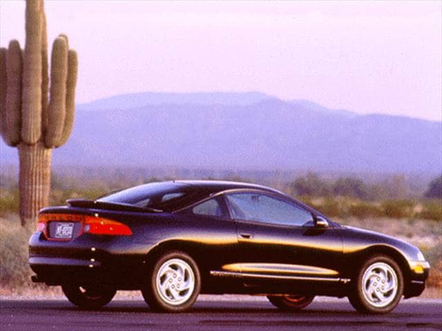 Most Fuel Efficient Hatchbacks of 1996 - 1996 Eagle Talon