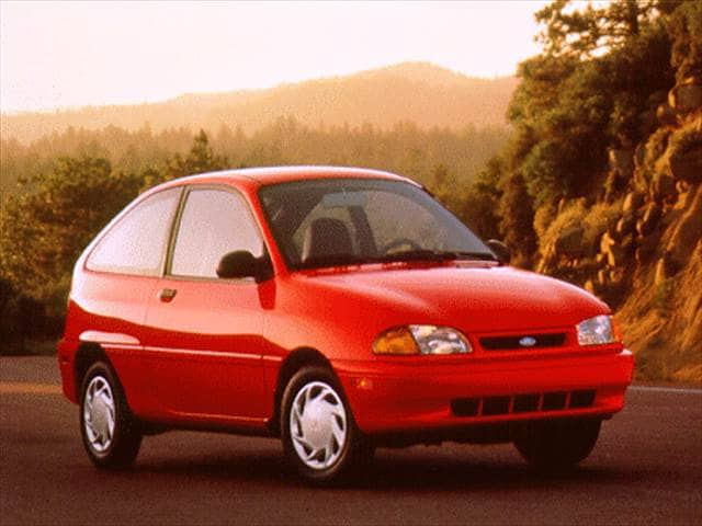 Most Fuel Efficient Hatchbacks of 1996 - 1996 Ford Aspire