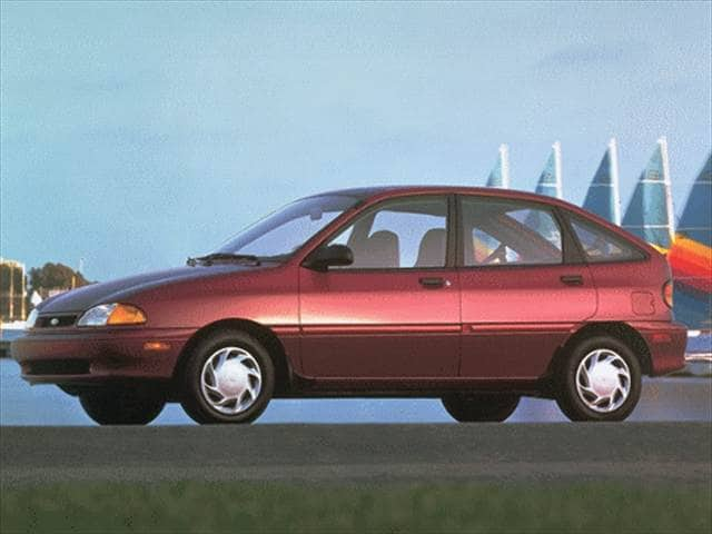 Most Fuel Efficient Sedans of 1996 - 1996 Ford Aspire