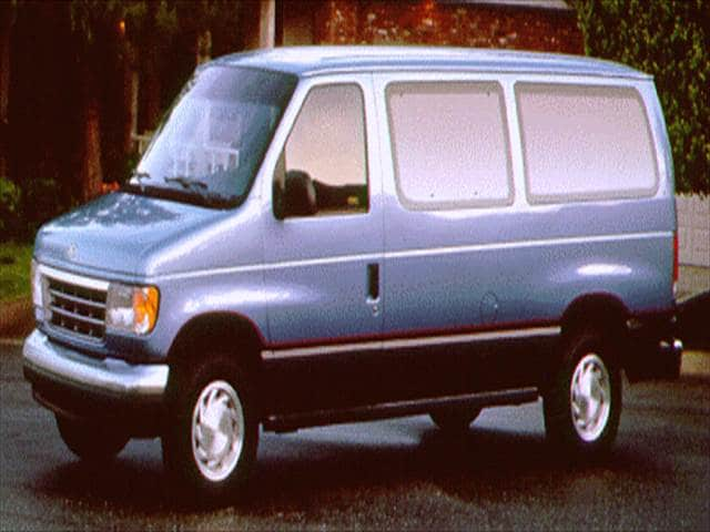 Top Consumer Rated Vans/Minivans of 1996 - 1996 Ford Club Wagon